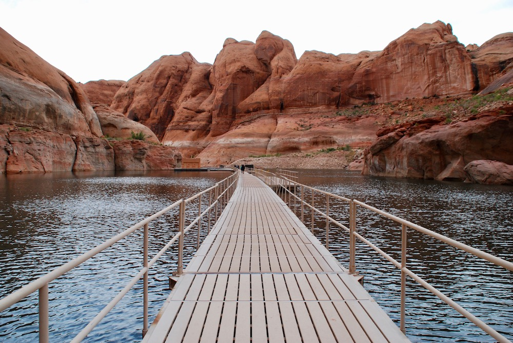 Boottocht Lake Powell Arizona Verenigde Staten