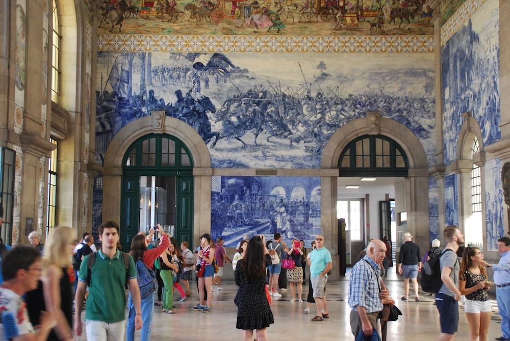 Estação de São Bento Porto Portugal