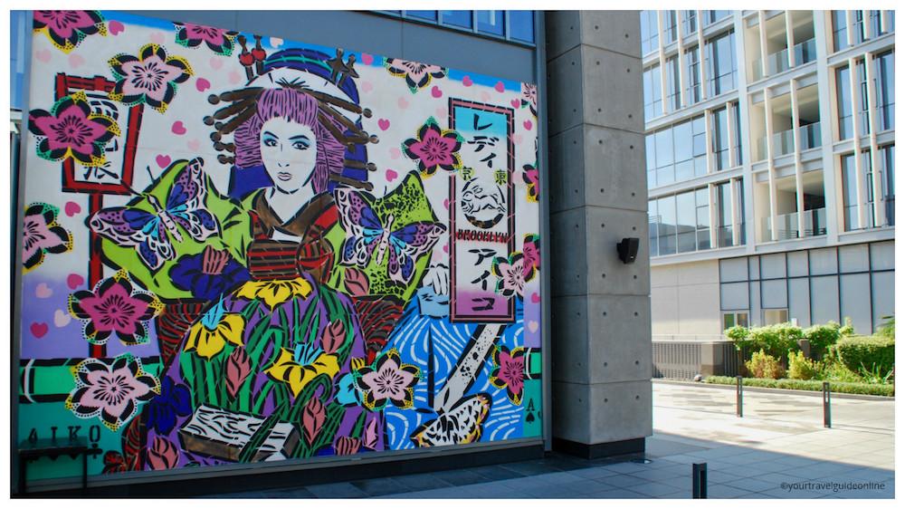 Aiko street art Dubai