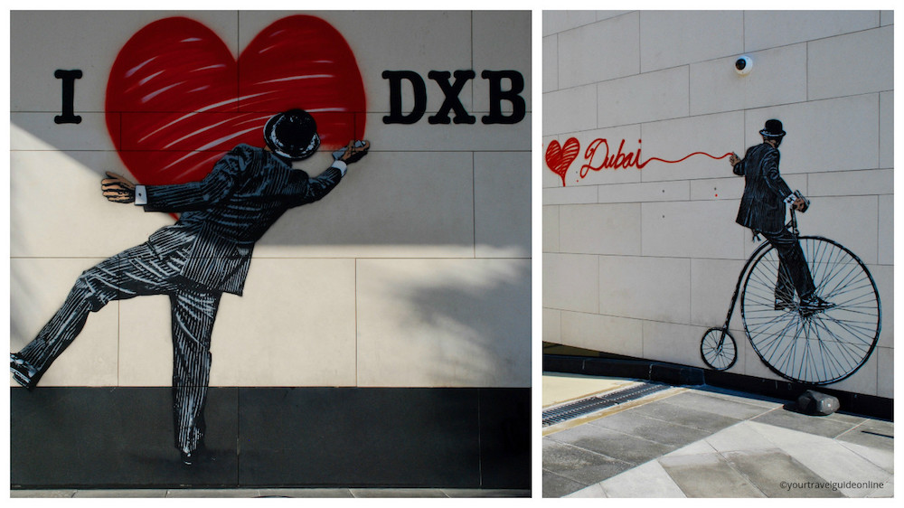 Nick Walker street art Dubai