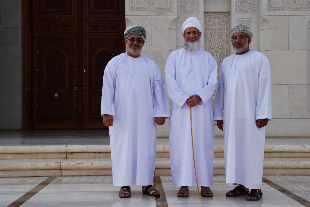 Portretten uit het Midden-Oosten Sultan Qaboos Grand Mosque Muscat Oman