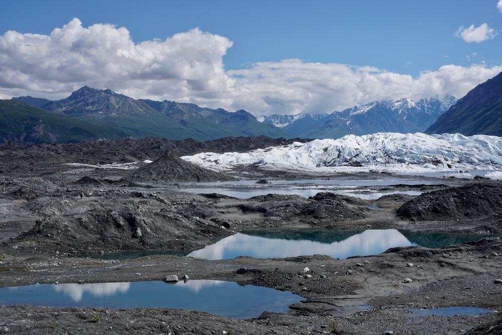 Route Alaska Matanuska Glacier Alaska Verenigde Staten
