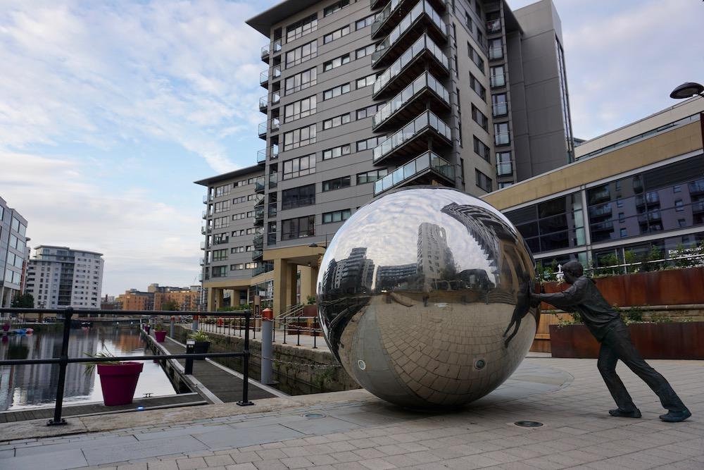 Leeds Docks Verenigd Koninkrijk