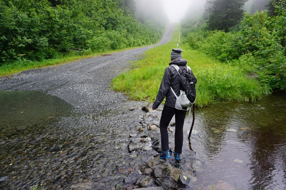 Solomon Gulch Trail Valdez Alaska