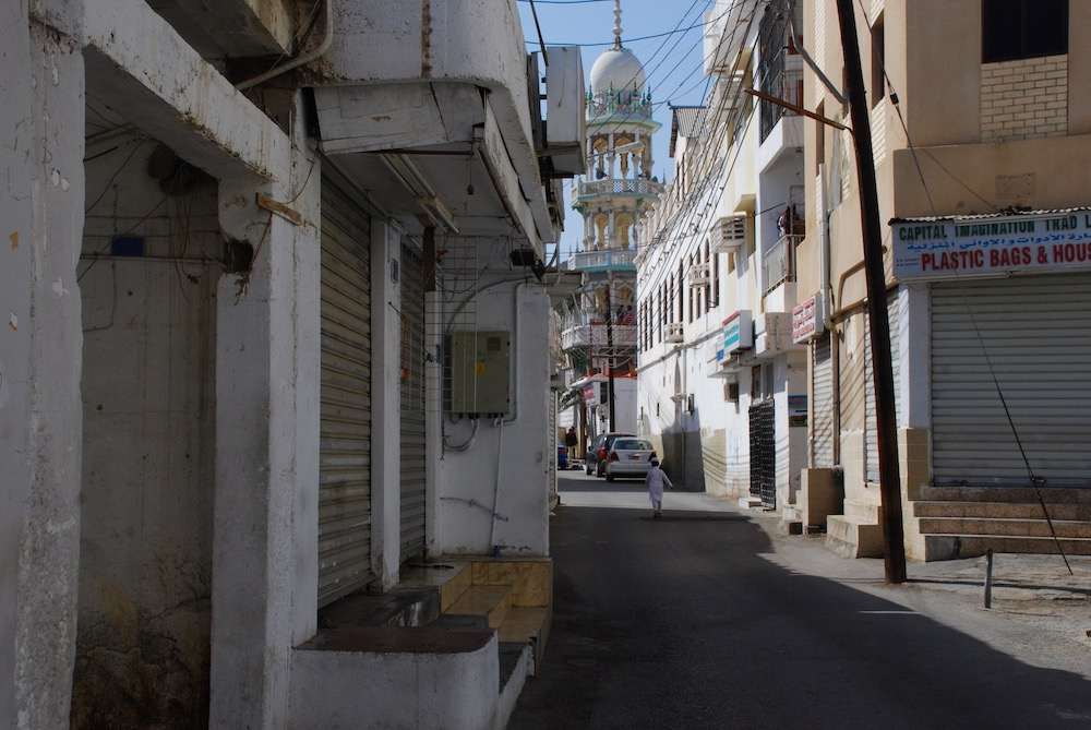 Naar de kapper in het buitenland Muscat Oman Midden-Oosten