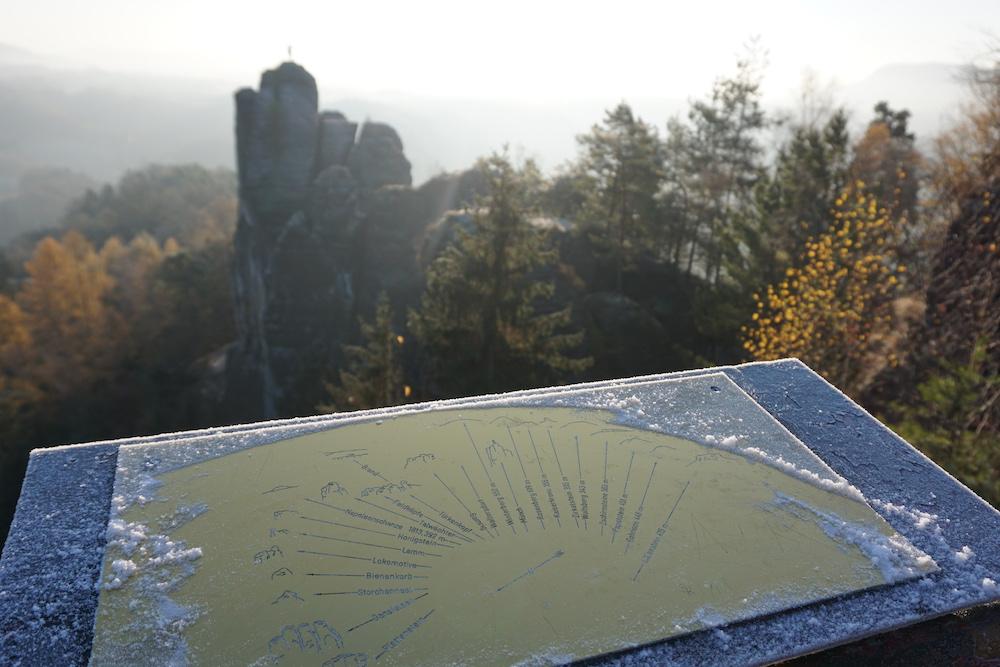 Felsenburg Neurathen Nationaal Park Sächsische Schweiz Rathen Duitsland