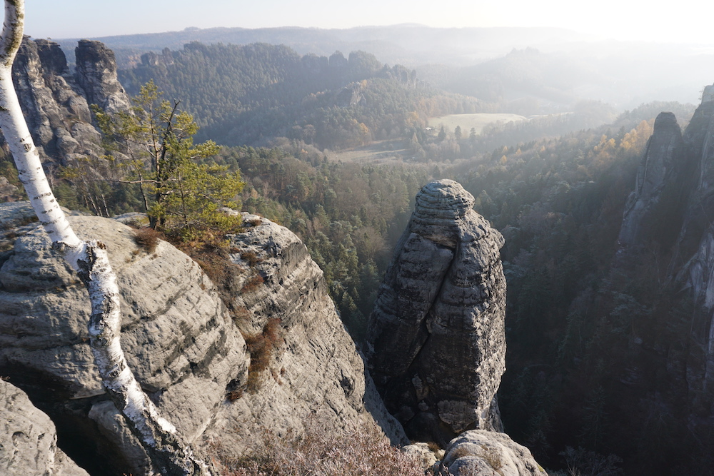Nationaal Park Sächsische Schweiz Rathen Duitsland