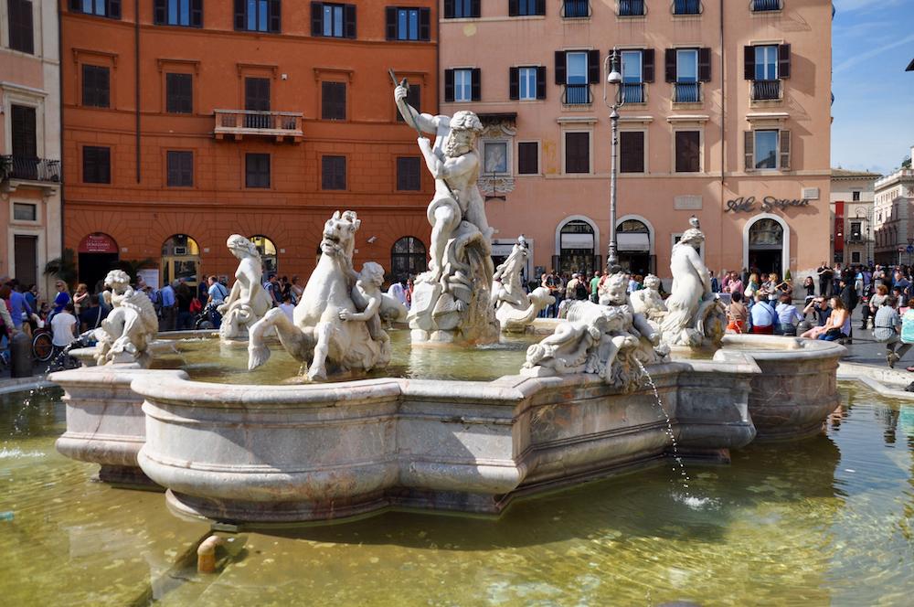Piazza Navona Rome Italië