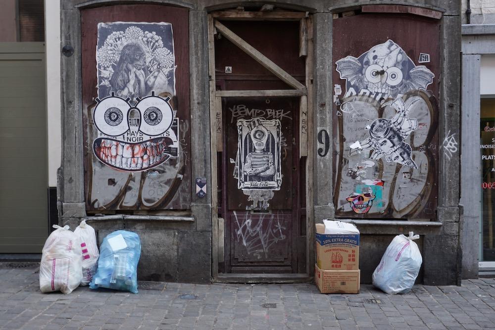 Street art Mons België