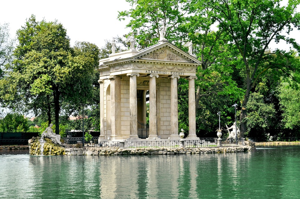 Villa Borghese Rome Italië