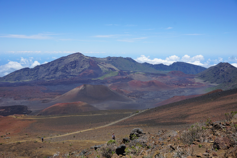 De mooiste nationale parken ter wereld Haleakala National Park Maui Hawaï Verenigde Staten