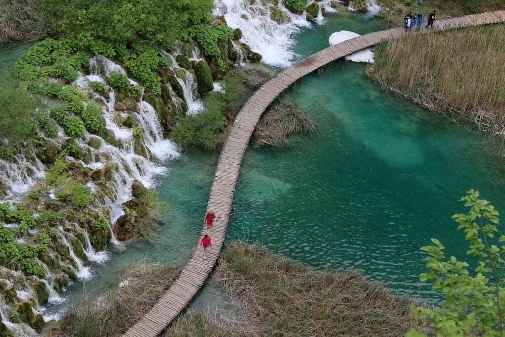 De mooiste nationale parken ter wereld Nationaal Park Plitvice Kroatië