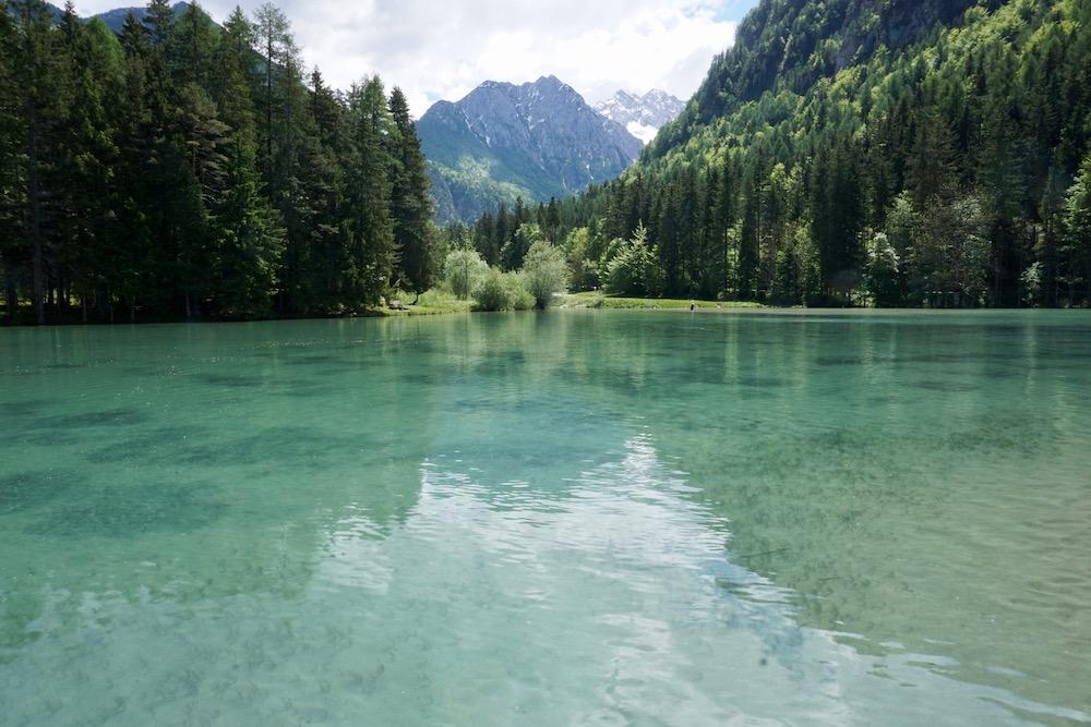 Plansarsko Jezero Slovenië
