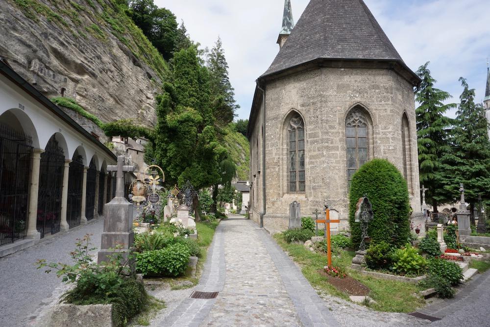 Begraafplaats Stift Sankt Peter Salzburg oostenrijk