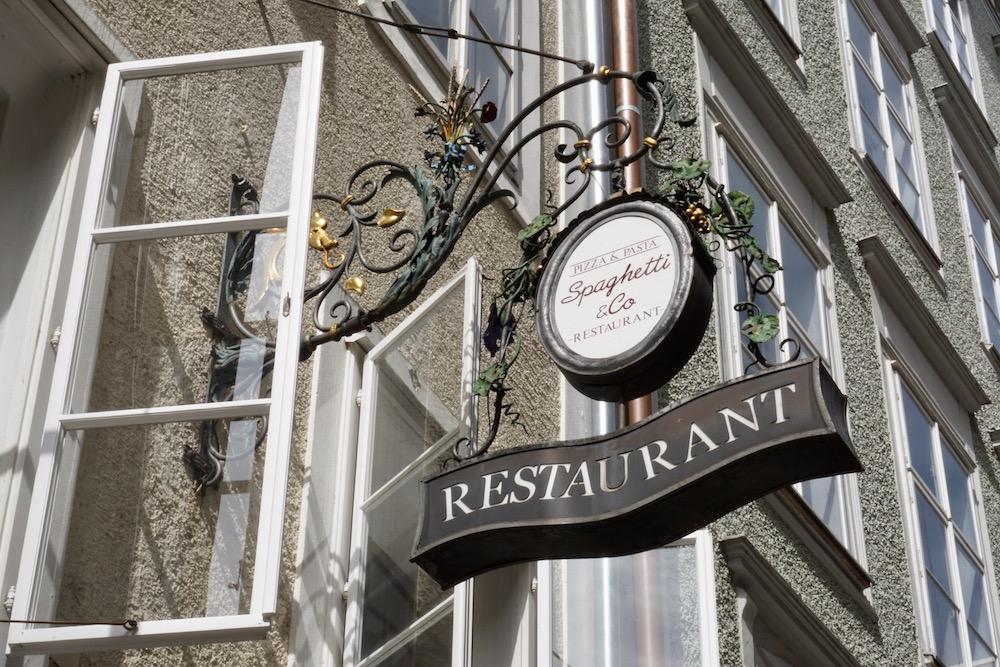 Eten en drinken in Salzburg Oostenrijk