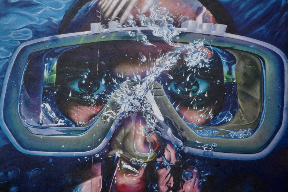 Moby Dick Rise One street art Antwerpen Berchem België
