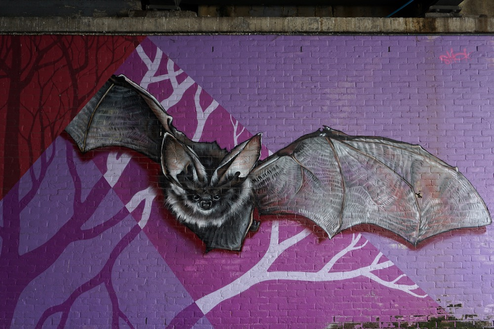 Under the Bridge Smok street art Antwerpen Berchem België