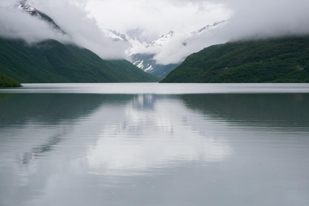 Solomon Gulch Trail Valdez Alaska Verenigde Staten