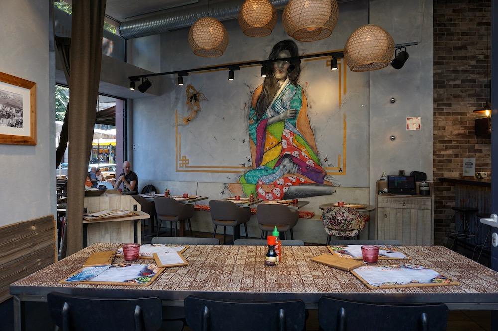 Eten en drinken in Frankfurt am Main Duitsland