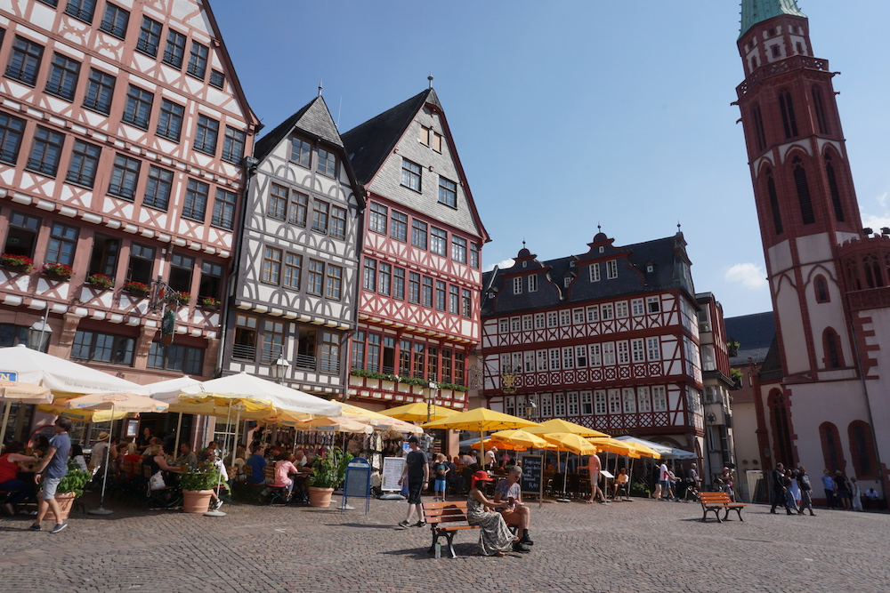 Römerberg Frankfurt am Main Duitsland