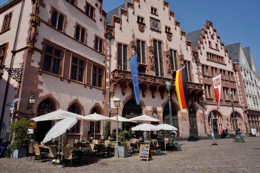 Rathaus Römer Frankfurt am Main Duitsland