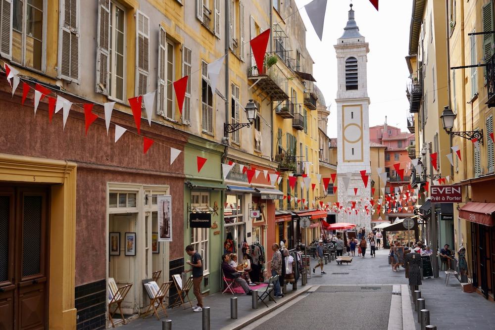Stedentrip in de herfst Nice Frankrijk