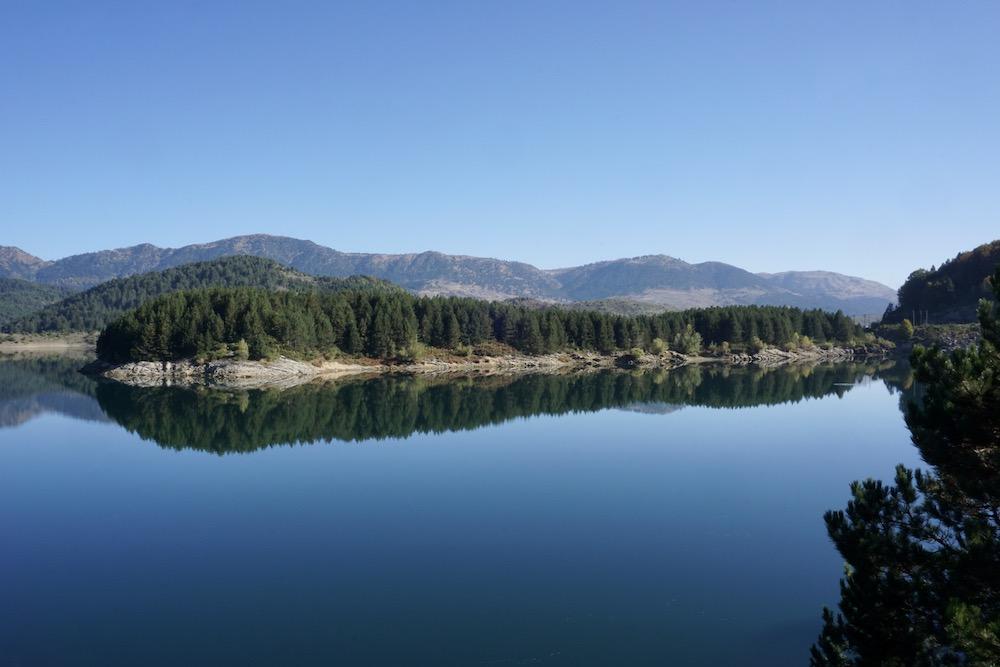 Aoos Springs Lake Metsovo Griekenland
