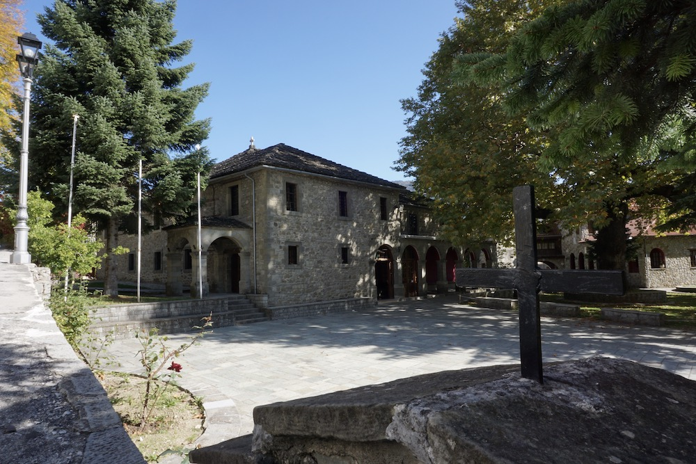 Church of Agia Paraskevi Metsovo Griekenland