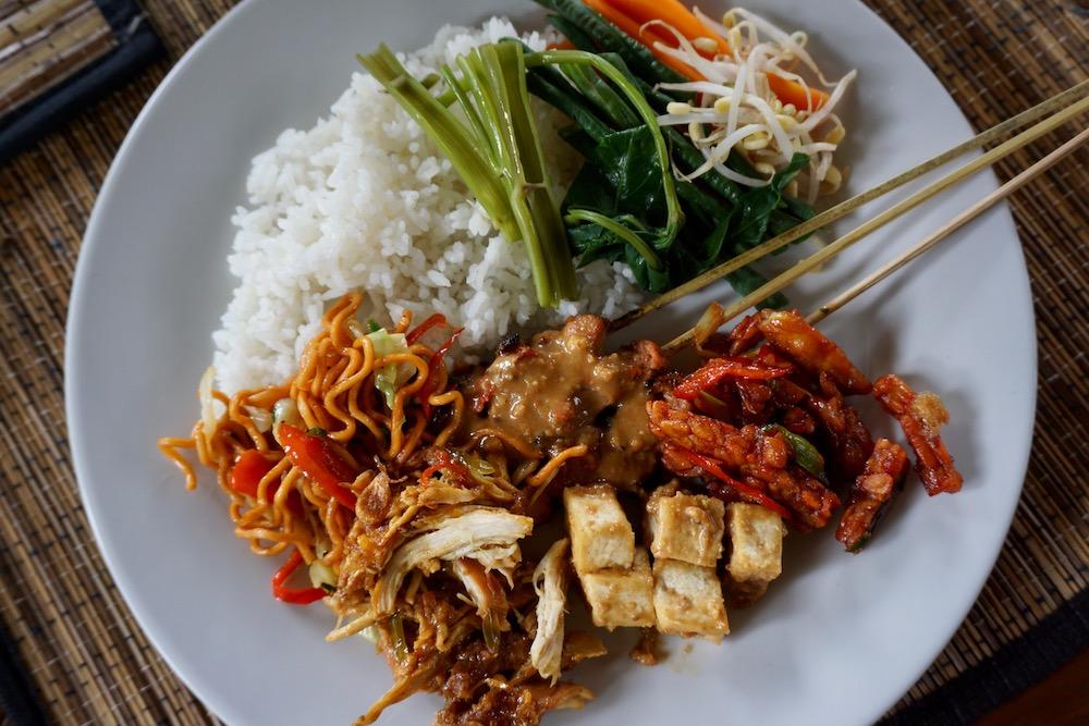 Eten in Ubud Bali Indonesië