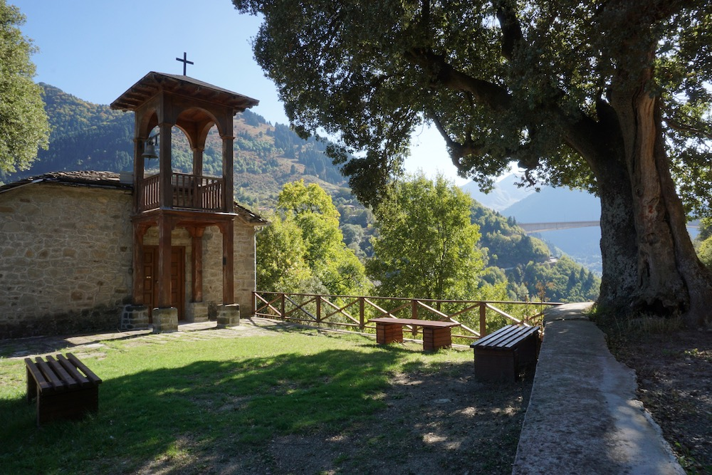 Monastery of Agios Nikolaos Metsovo Griekenland