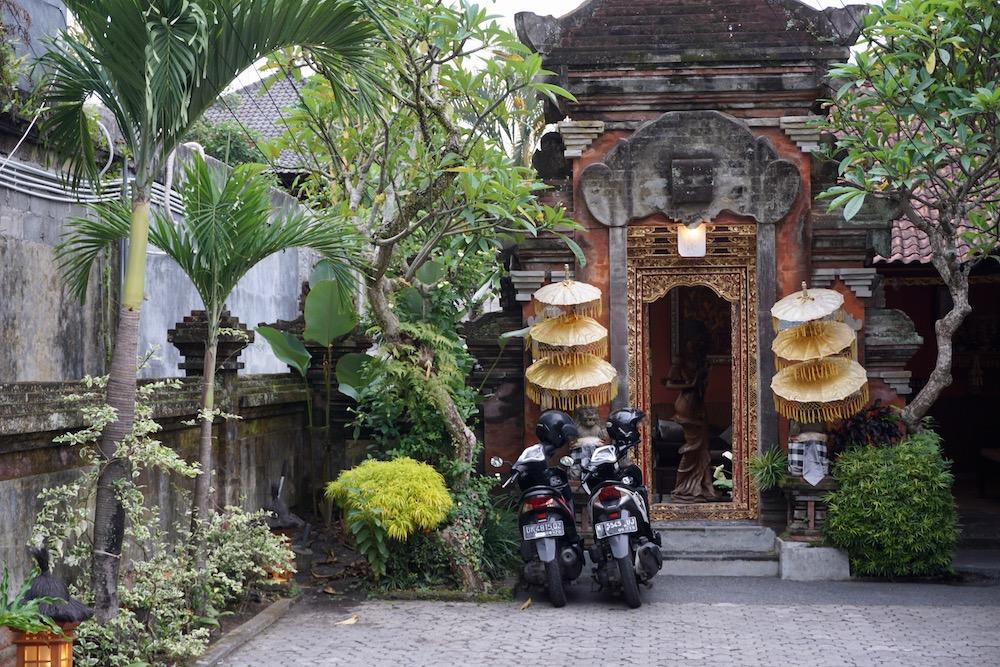 Scooter huren Ubud Bali Indonesië
