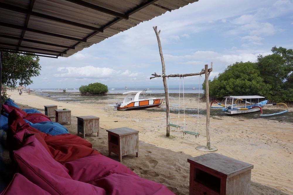 Mangrove Beach Nusa Lembongan Indonesië