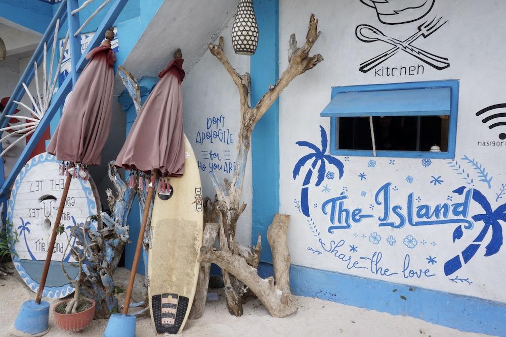 The Island Nusa Ceningan Indonesië