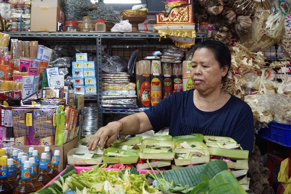Pasar Badung Denpasar Bali Indonesië