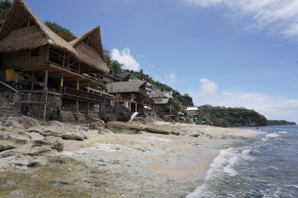 Bingin Beach Uluwatu Bali Indonesië