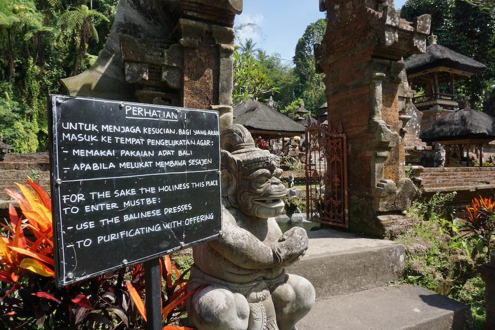Mooiste tempel Bali: Gunung Kawi Sebatu