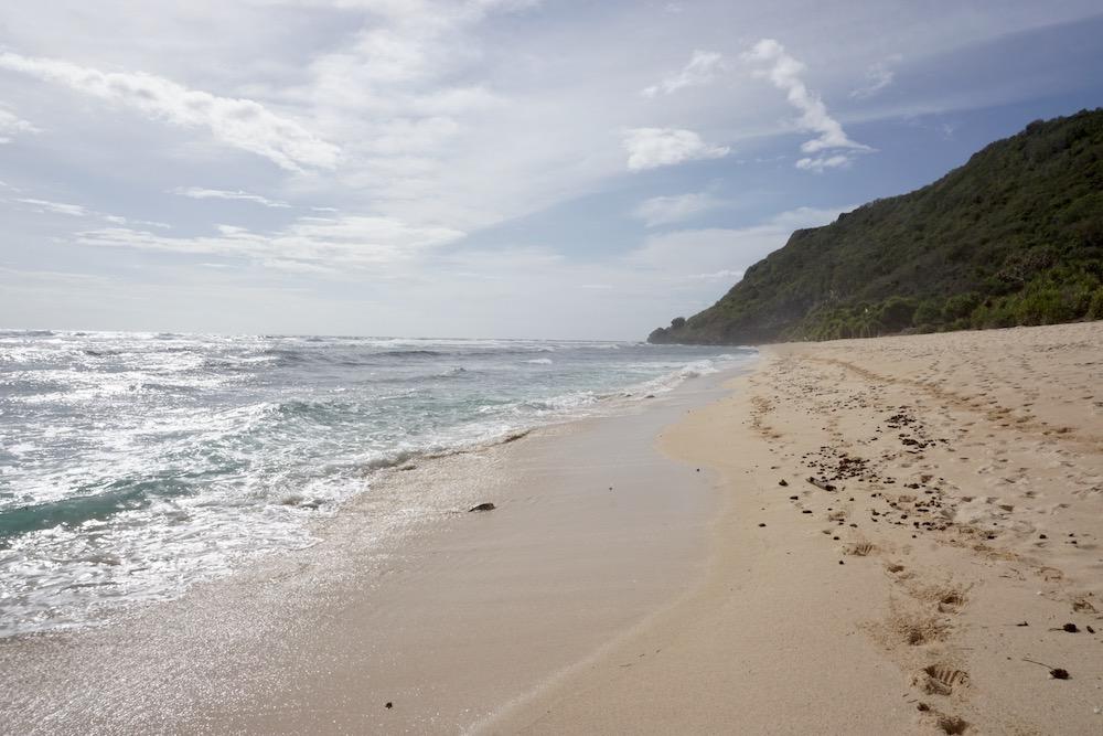 Nyang Nyang Beach Uluwatu Bali Indonesië