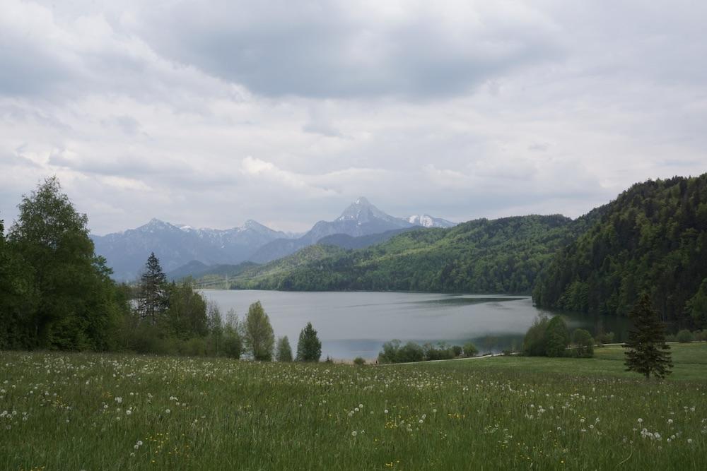 Duitse Alpenroute Weissensee Duitsland