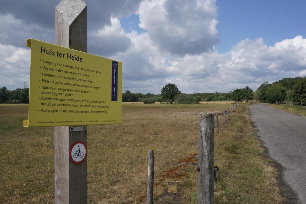 Wandelen Huis ter Heide Noord-Brabant Nederland