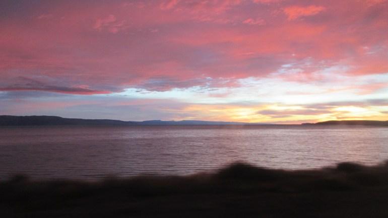 Magical Sunrise El Calafate