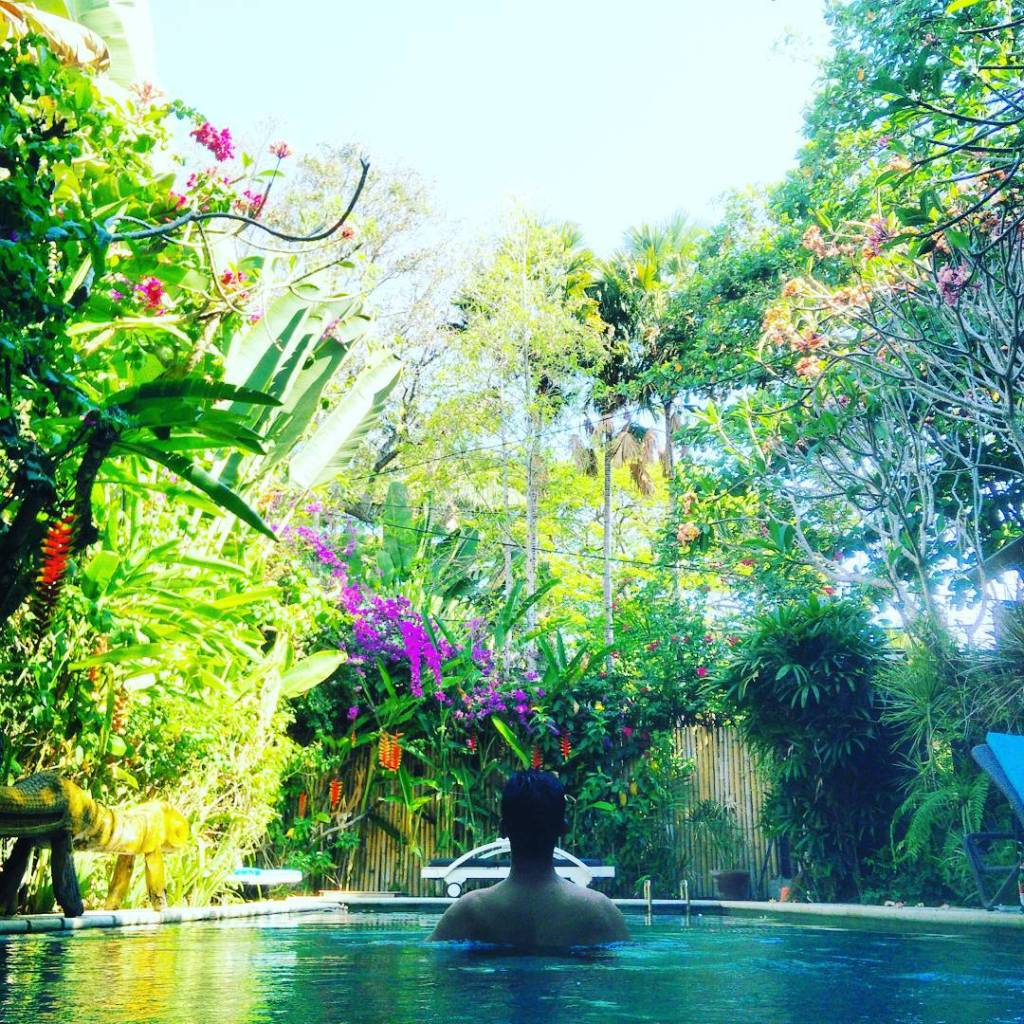 Chilling in Ubud, Indonesia