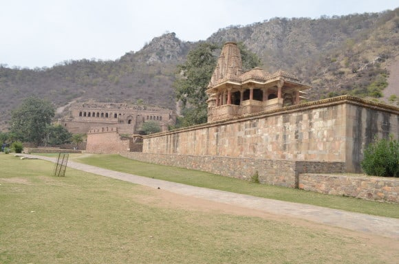 Temple in the Bhangarh fort area