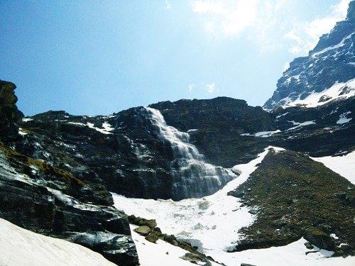 Upper Waterfall - Rupin pass trek - Day 6