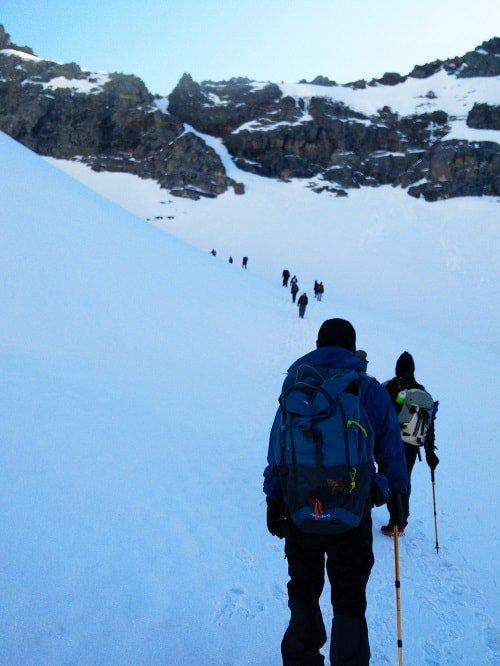 Climbing Rupin Pass