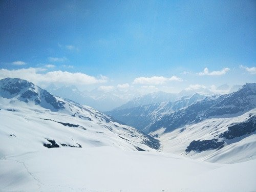 View from Rupin Pass - Travelmax