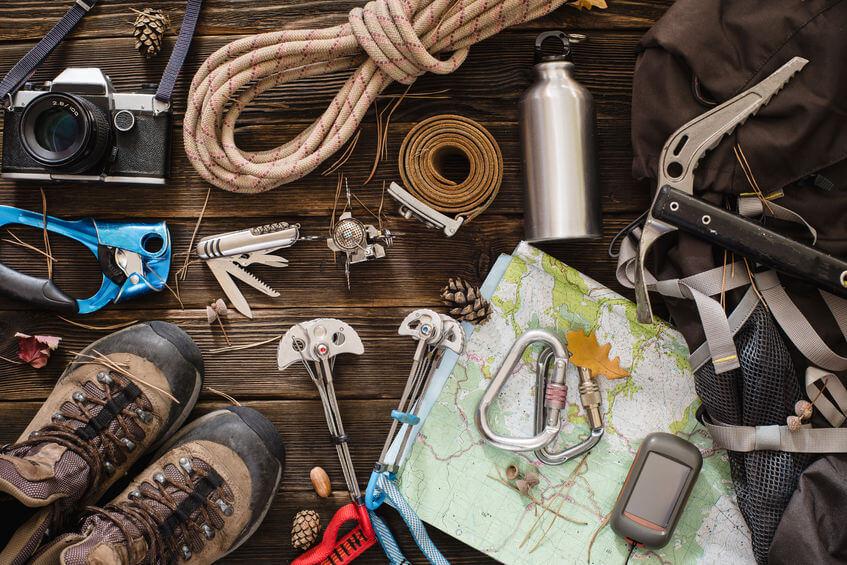 trekking ausstattung