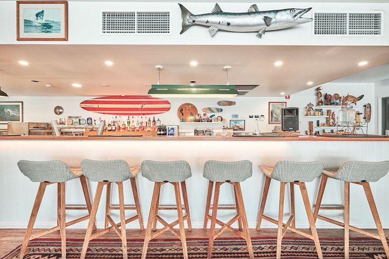 Surf House Byron bar