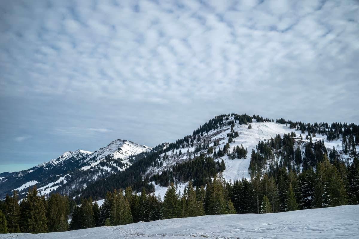 Schneeschuhwanderung zur Falkenhütte