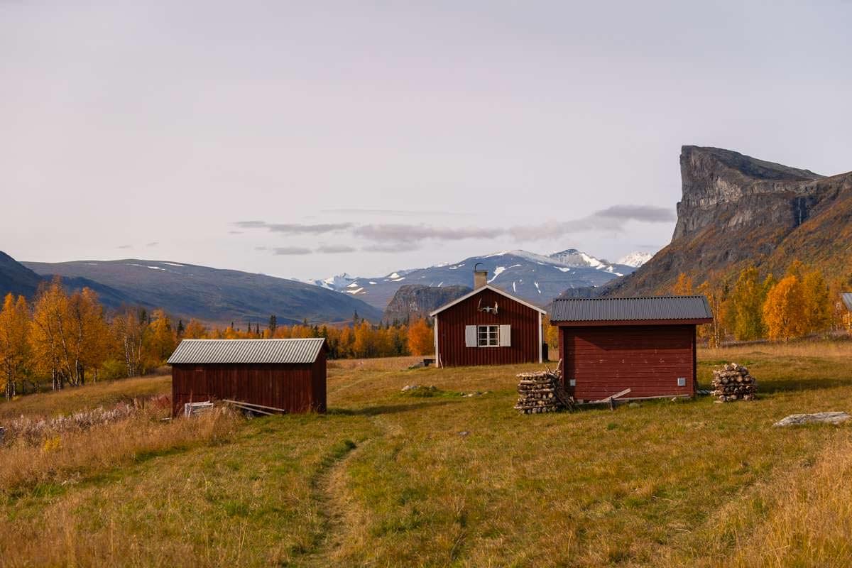 Fjellstation Aktse in Lappland, Schweden