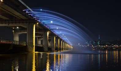Le pont-fontaine de Banpo